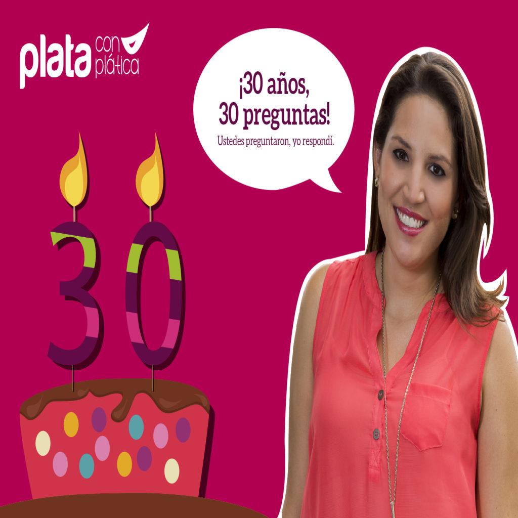 Elaine Cumpleaños 30   Plata con Plática
