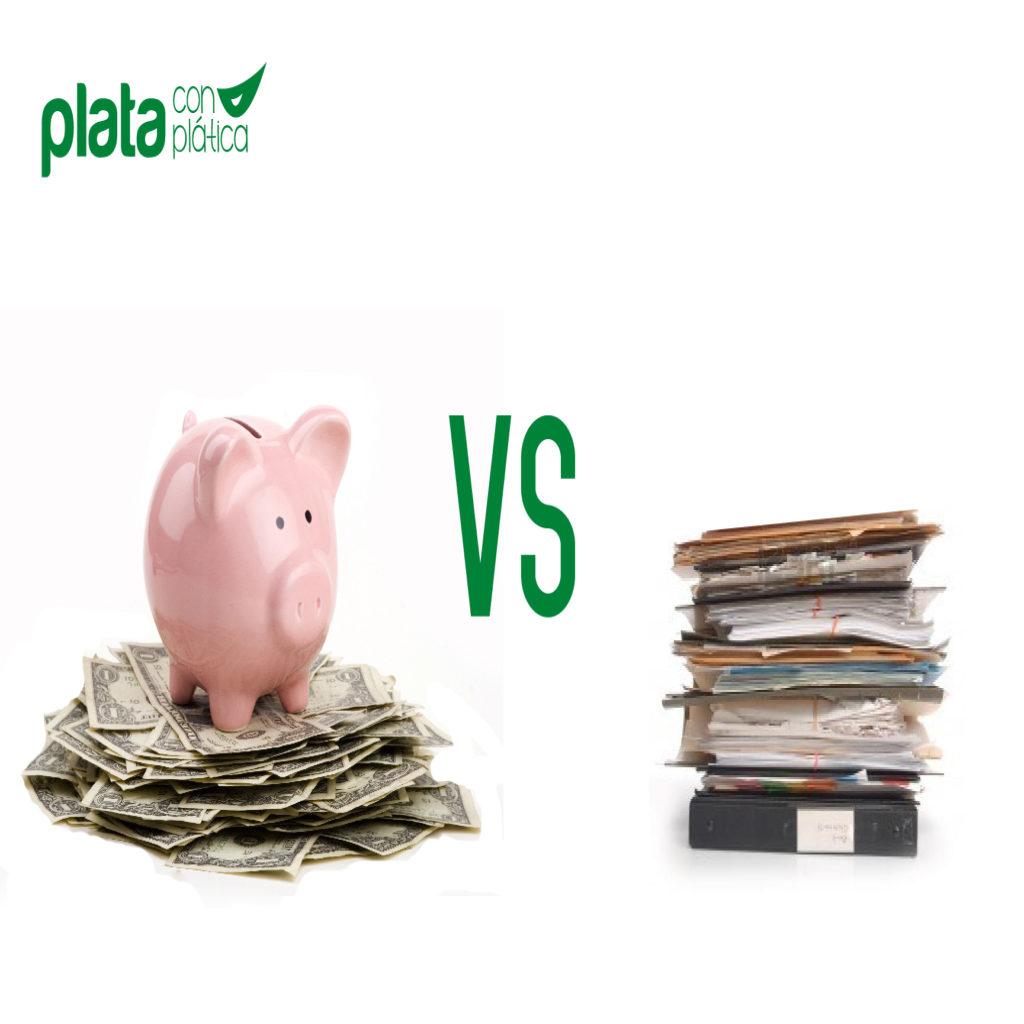 Fondo vs seguro | Plata con Plática
