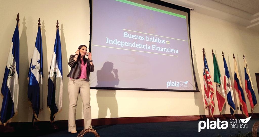 Elaine Miranda Banco Lafise | Plata con Plática