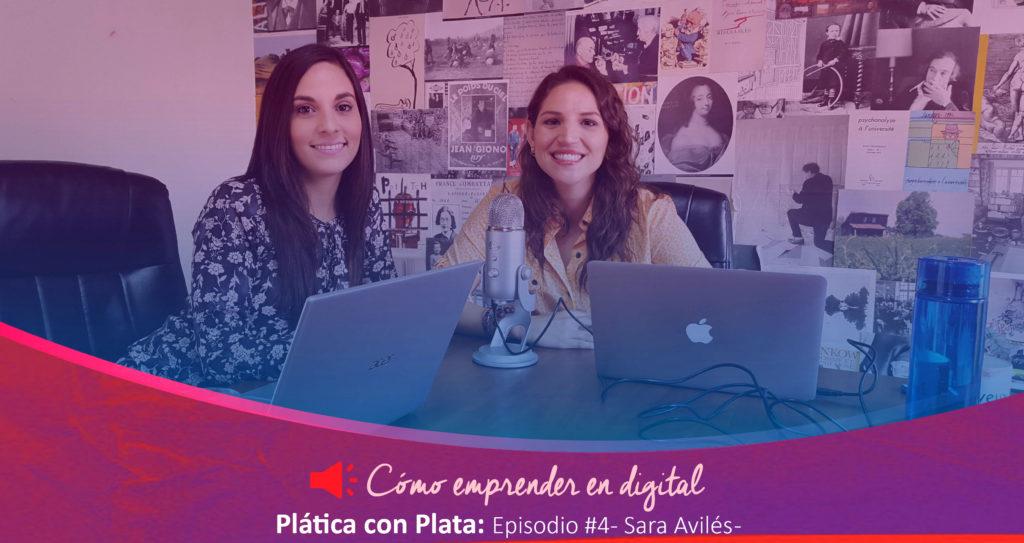 Sara Avilés Plática con Plata   Plata con Plática
