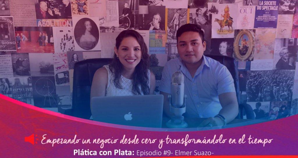 portada Ela podcast Elmer Suazo 01 | Plata con Plática