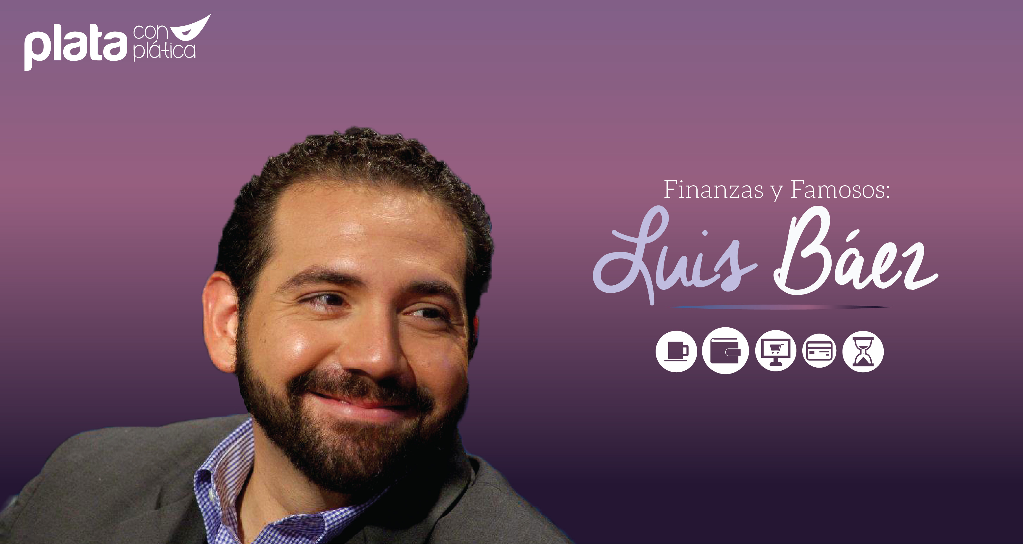 Luis Báez Plata con Plática