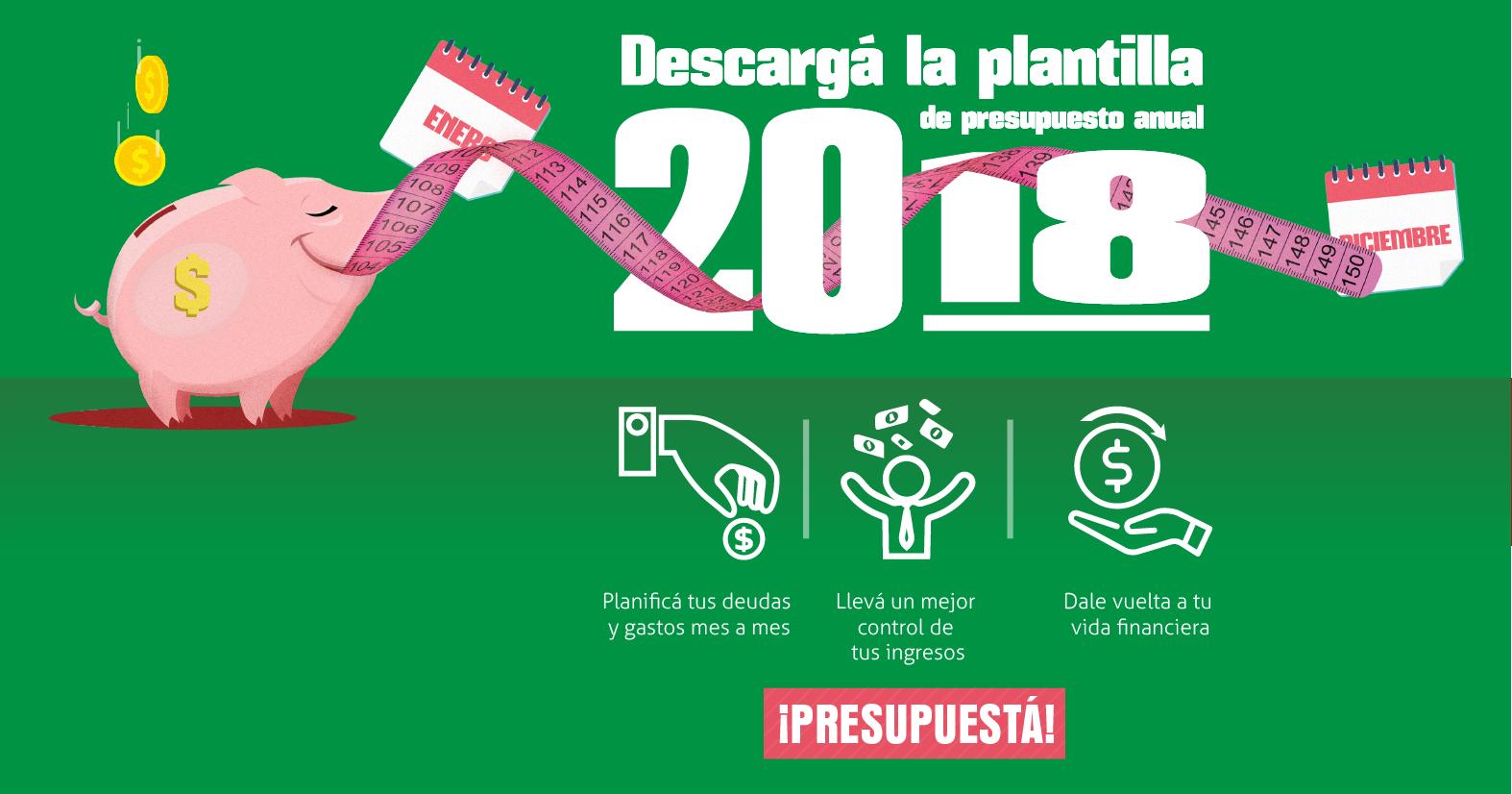 CTA Presupuesto anual 2018 01 | Plata con Plática