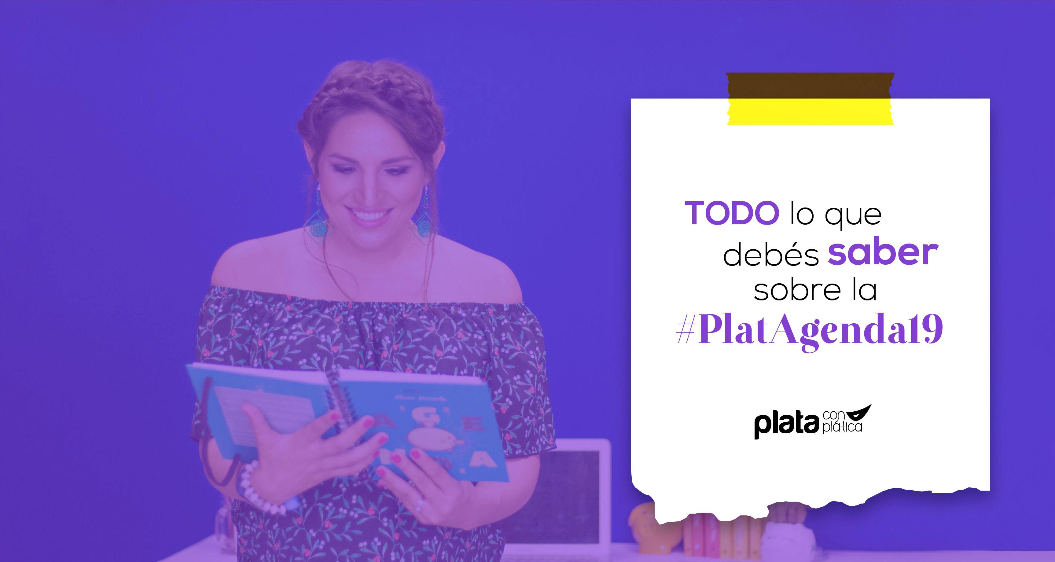 portada platagenda19   Plata con Plática