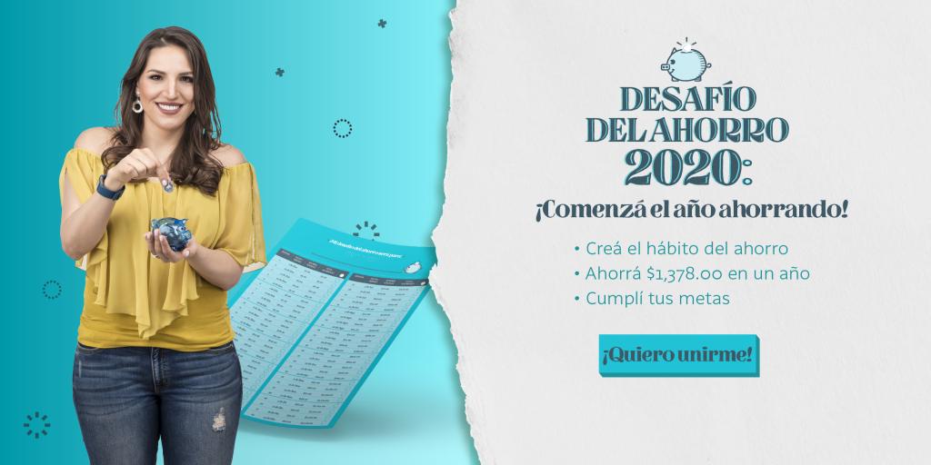 CTA Desafío del ahorro 2020 01 | Plata con Plática