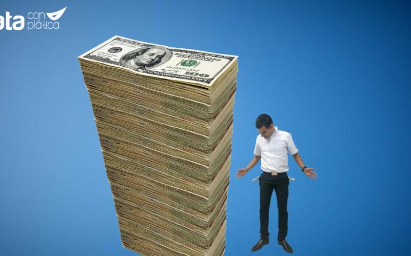 Por qué quienes ganan menos pagan más