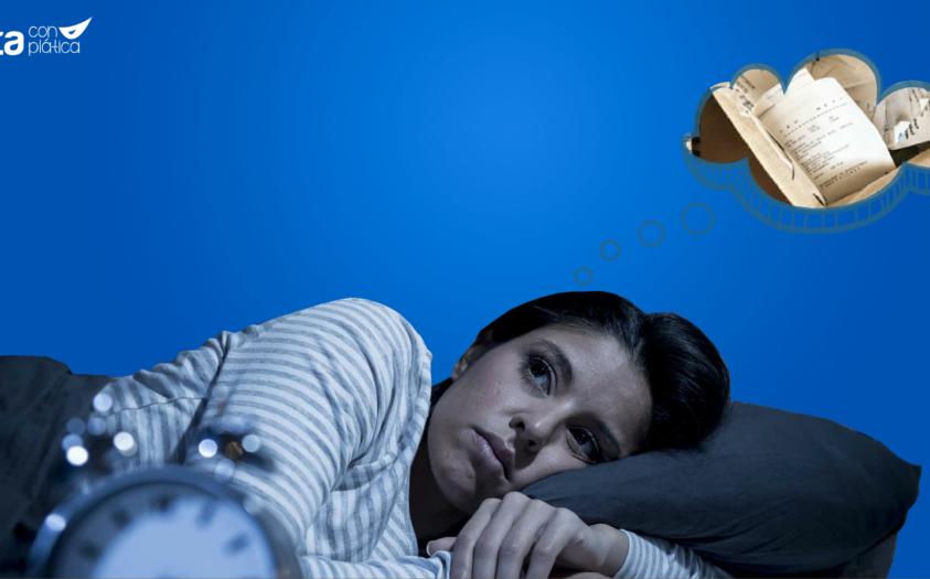 Mi deuda no me deja dormir, ¡ayuda!