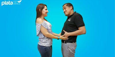 Plata con plática embarazo